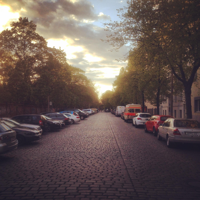 Ackerstraße in Berlin im April 2014