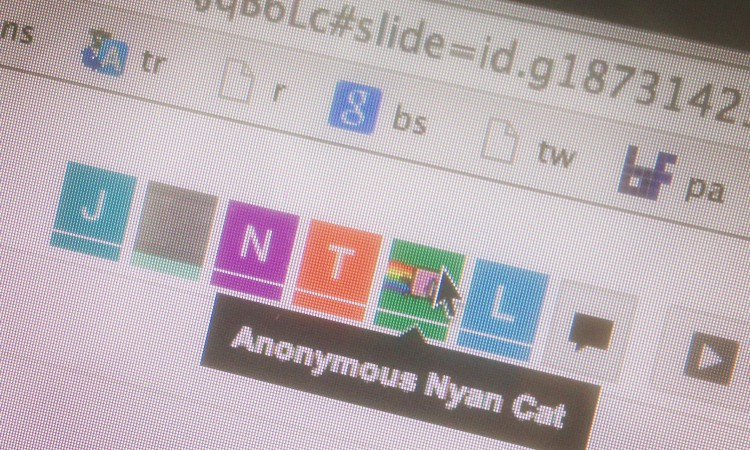 Nyan Cat in Google Drive