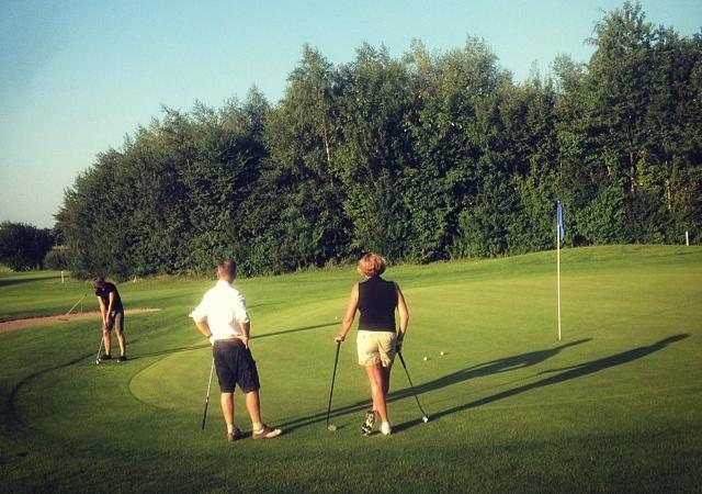 Golfen bei Plön