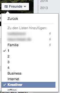 Facebook Kontakt Tags